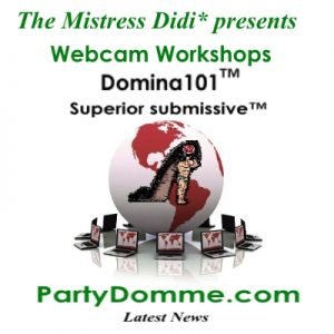 The Mistress Didi*s Webinars