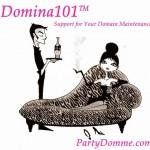 © Domina101™ Logo PartyDomme.com